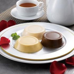 【計9個】「ホテルオークラ」2種のプリンとチョコレートムース...