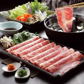【350g】仙台牛しゃぶしゃぶ肉/肩ロース肉をしゃぶしゃぶ用...