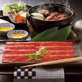 【計450g】米沢牛すきやき肉(もも肉・かた肉)