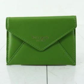 【ケイトスペード カードケース 色:YELLOW GREEN...
