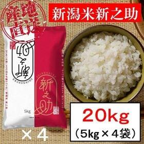 【20kg】新潟米 新之助 令和3年産