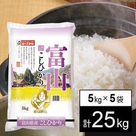【25kg】新米 令和3年産 富山県産コシヒカリ