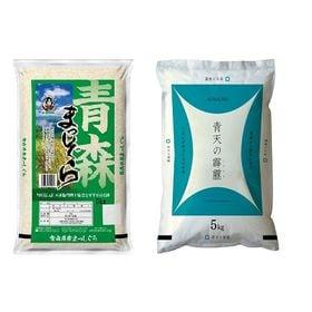 【5kg×2袋】令和3年産 青森県産まっしぐら・青天の霹靂