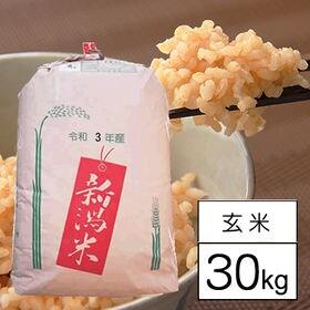 【30kg】 令和3年産 新潟県中越産 新之助 1等玄米30...