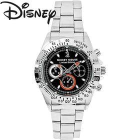 [黒文字盤] 世界限定 ディズニー ミッキー 腕時計 ユニセ...