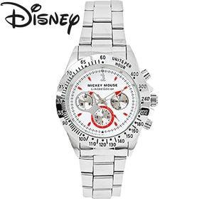 [白×赤文字] 世界限定 ディズニー ミッキー 腕時計 ユニ...