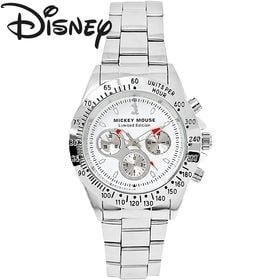 [白×グレー] 世界限定 ディズニー ミッキー 腕時計 ユニ...