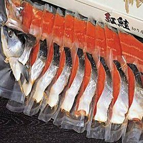 極上紅鮭姿切身「A」 1本・1.3‐1.6kg