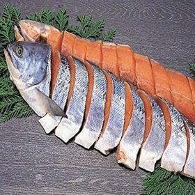 特上新巻鮭切身「B」(1本・2ー2.3kg)