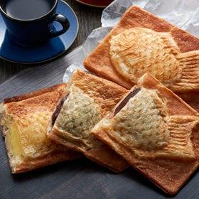 【計13個】クロワッサン鯛焼き3種セット