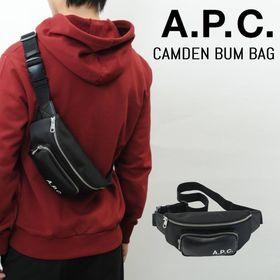 【A.P.C】ボディバッグ CAMDEN BUM BAG ブ...