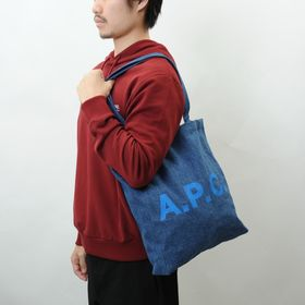 【A.P.C】トートバッグ LOU TOTE ブルー