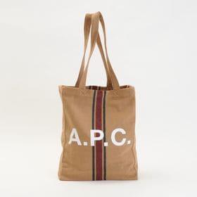 【A.P.C】トートバッグ LOU TOTE キャメル