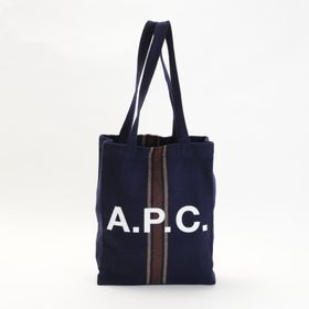 【A.P.C】トートバッグ LOU TOTE ダークネイビー