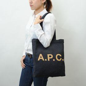 【A.P.C】トートバッグ LOU TOTE ブラック系