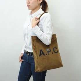 【A.P.C】トートバッグ CORDUROY LOU TOT...