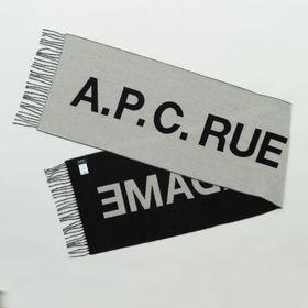 【A.P.C】マフラー ANGELE SCARF ホワイト