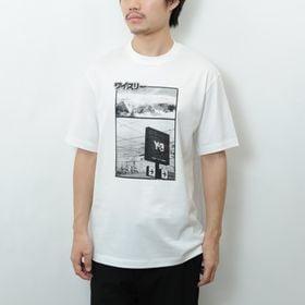 Sサイズ【Y-3】Tシャツ U CH2 ZINE PAGE-...