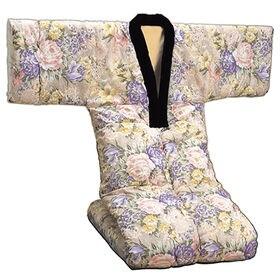 【ピンク系】裏フリース かいまき布団 衿カバー付き
