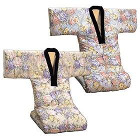 【2色組】裏フリース かいまき布団 衿カバー付き