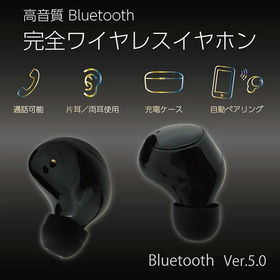 通話対応 充電ケース付完全ワイヤレスイヤホン  EAR-PH...