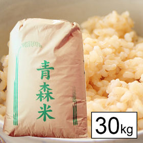 【30kg】 令和3年産 青森県産 まっしぐら 1等 玄米 ...