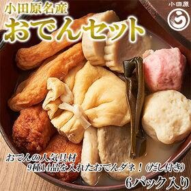 小田原名産おでんセット(ダシ付き)