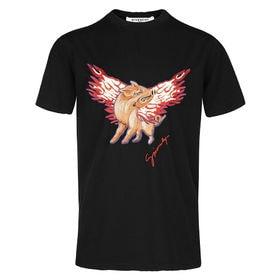 ジバンシー Tシャツ 半袖 BM70LF3002 001 B...