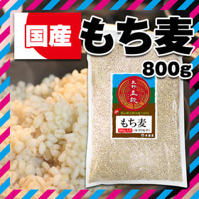 【800g】岡山県産 もち麦 [玉野五穀]