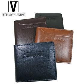LUV-8004ルチアーノバレンチノ 牛革2つ折財布
