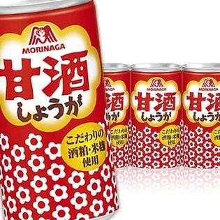 森永製菓 甘酒<しょうが>190g×60本