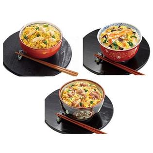 アマノフーズ 小さめどんぶり 3種12食セット