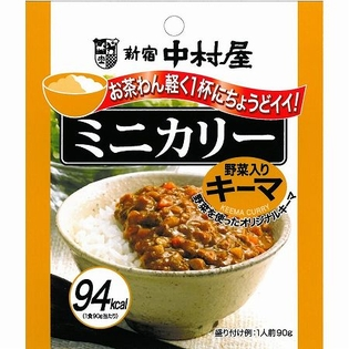 新宿中村屋 ミニカリー野菜入りキーマ 90g×20個