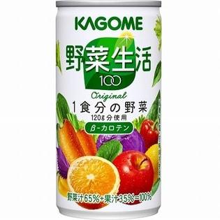 カゴメ 野菜生活100 オリジナル 190g×30本