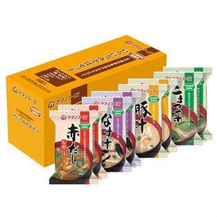 アマノフーズ 化学調味料無添加 いろいろみそ汁セット 4種24食