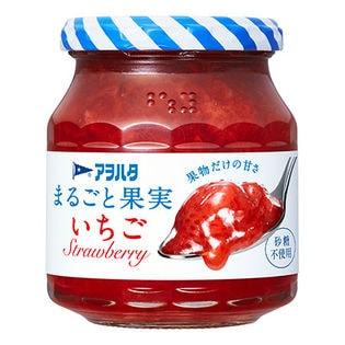 アヲハタ まるごと果実 いちご 255g×6個