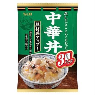 S&B どんぶり党 中華丼 (165g×3個)×8袋