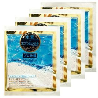 水素入浴料「業務用プロエステMgH2エプソム入浴料」4袋セット