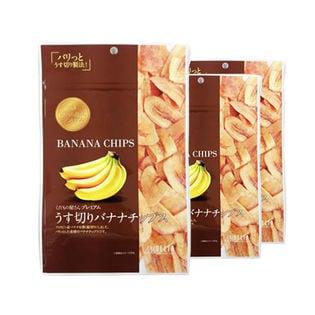 くだもの屋さんプレミアム うす切りバナナチップス
