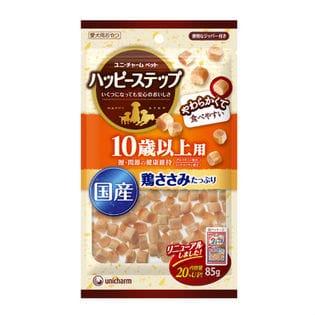 【18袋】愛犬元気ハッピーステップ10歳以上用小粒