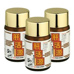 【3個セット】 maruman 肝活源 90粒