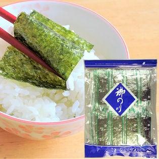 <国産原料使用>味付け海苔 12切5枚入り×100袋(a14960)