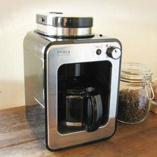 【サンプルの日 3名様】siroca(シロカ)/全自動コーヒーメーカー 全自動コーヒーマシン/STC-401