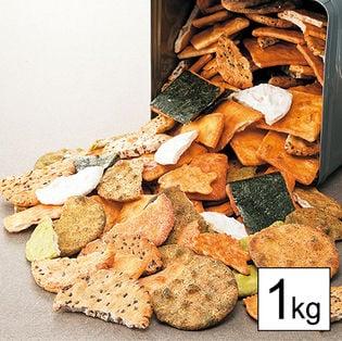 <ほりゐ>割れ草加せんべい 1kg(a15048)