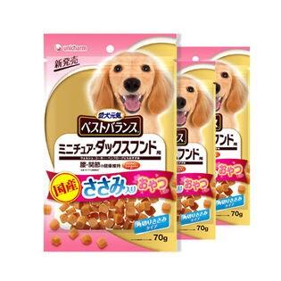 【36袋】愛犬元気 ベストバランス おやつ ミニチュア・ダックスフンド用