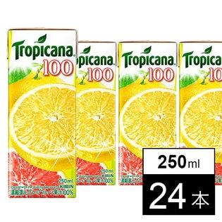 キリン トロピカーナ100% グレープフルーツ LL250ml×24本