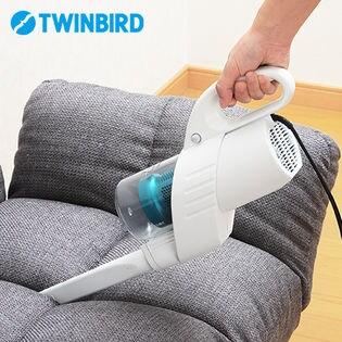 ツインバード(TWINBIRD)/ACハンディークリーナー ハンディージェットサイクロン (布団ノズル付)/HC-EB41W