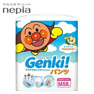 ネピア/Genki!ゲンキパンツ (Mサイズ) 58枚×3パック (174枚)