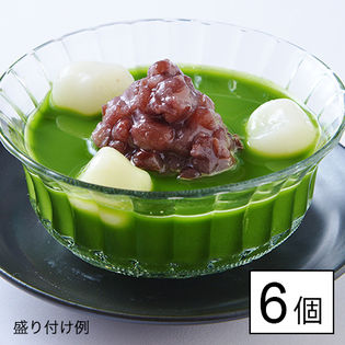 【京都】東山茶寮 抹茶のおぜんざい 6個入