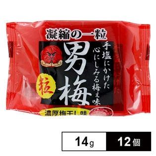 ノーベル 男梅粒14g×12個(6×2B)